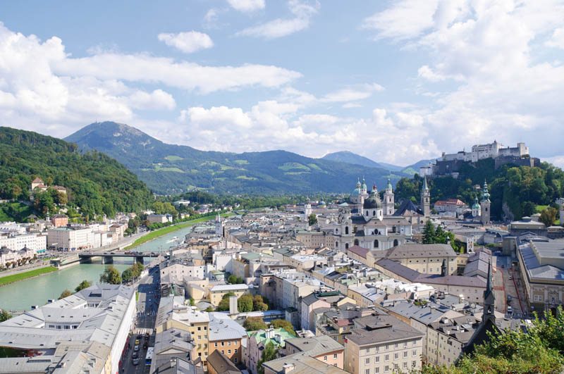 Salzburg Übersicht