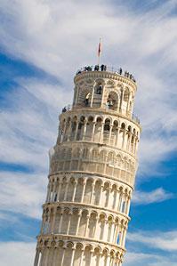 Der schiefe Turm von Pisa