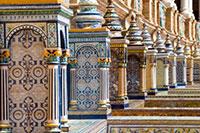 Details am Plaza de Espagna, Sevilla