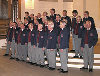 Auftritt des Männerchores Röthenbach