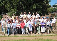 Die Gruppe der Pfarrei St. Sebastian Würselen