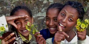 Äthiopien Kinder Web klein