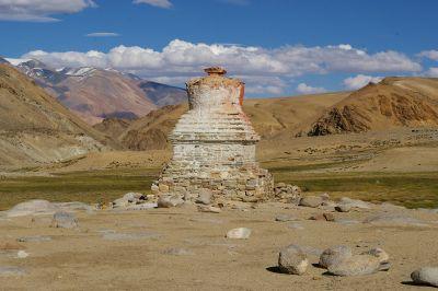 Chorten_at_Korzok_Ladakh