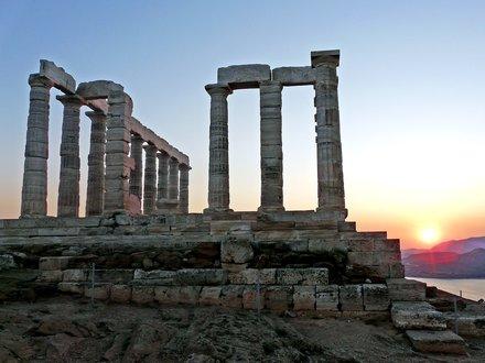 Poseidon-Tempel Kap Sounion