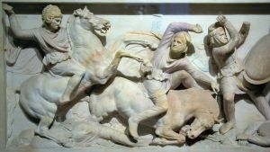 Alexander Sarcophagus_Battle of Ussus_Istanbul