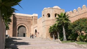 Tor der Kasbah der Oudaias_Rabat_Marokko_Copy right holder Pline